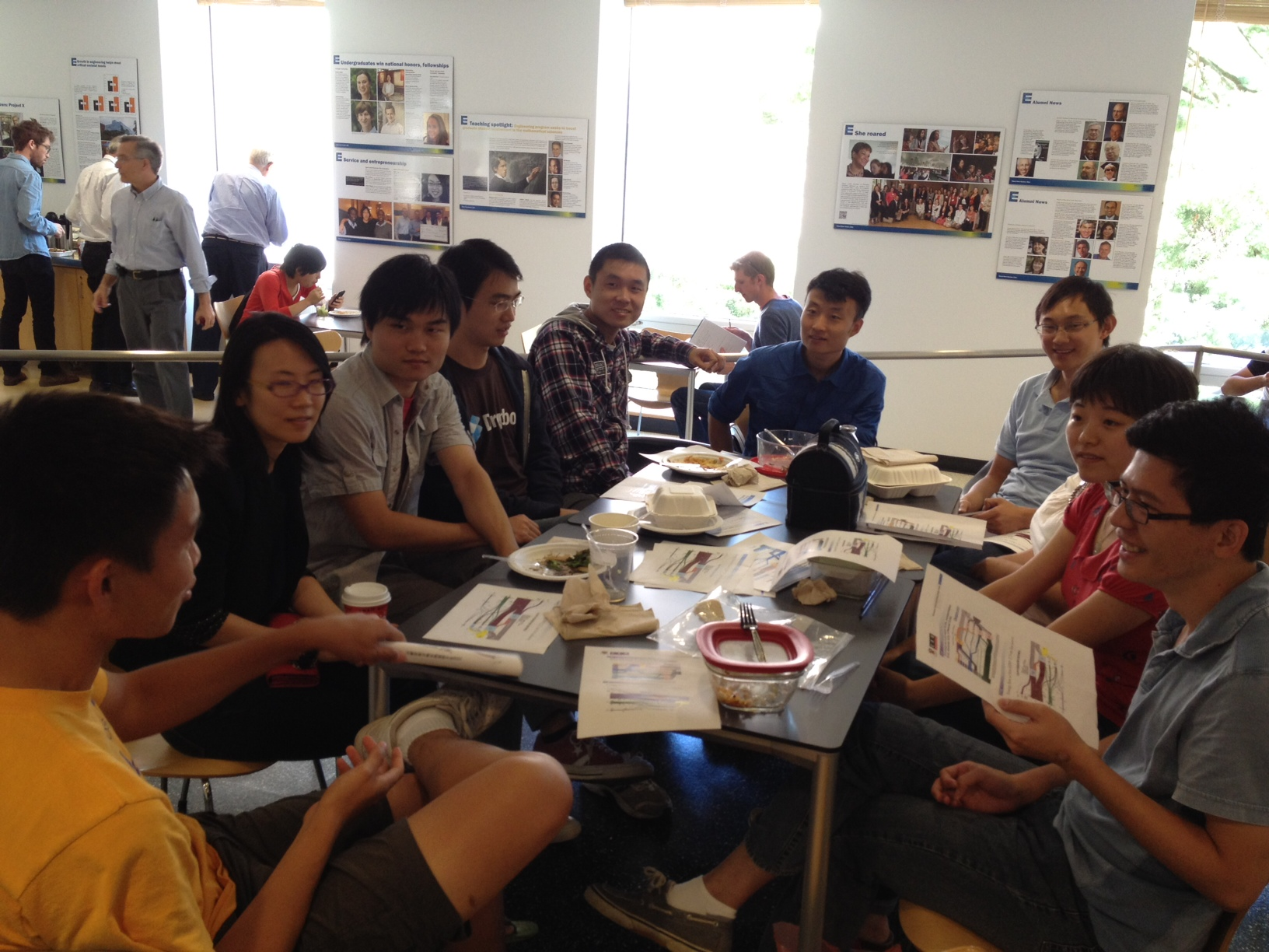 China energy group news for Group lunch