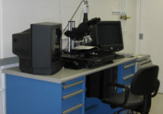 Mitutoyo microscope bench