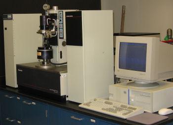Rheometrics RFS II fluids spectrometer