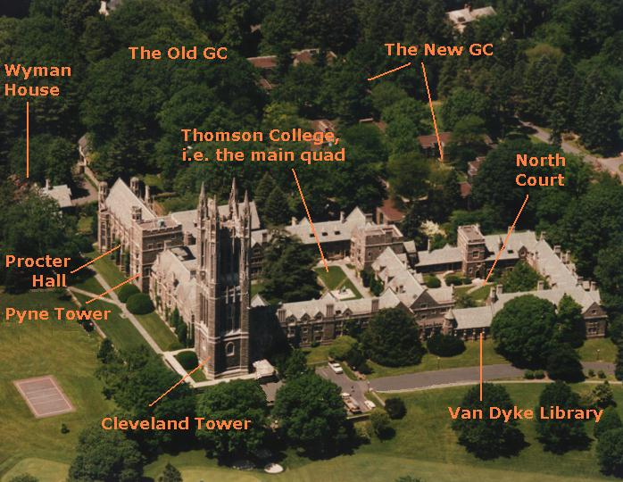 A Bird's Eye View of the Graduate College