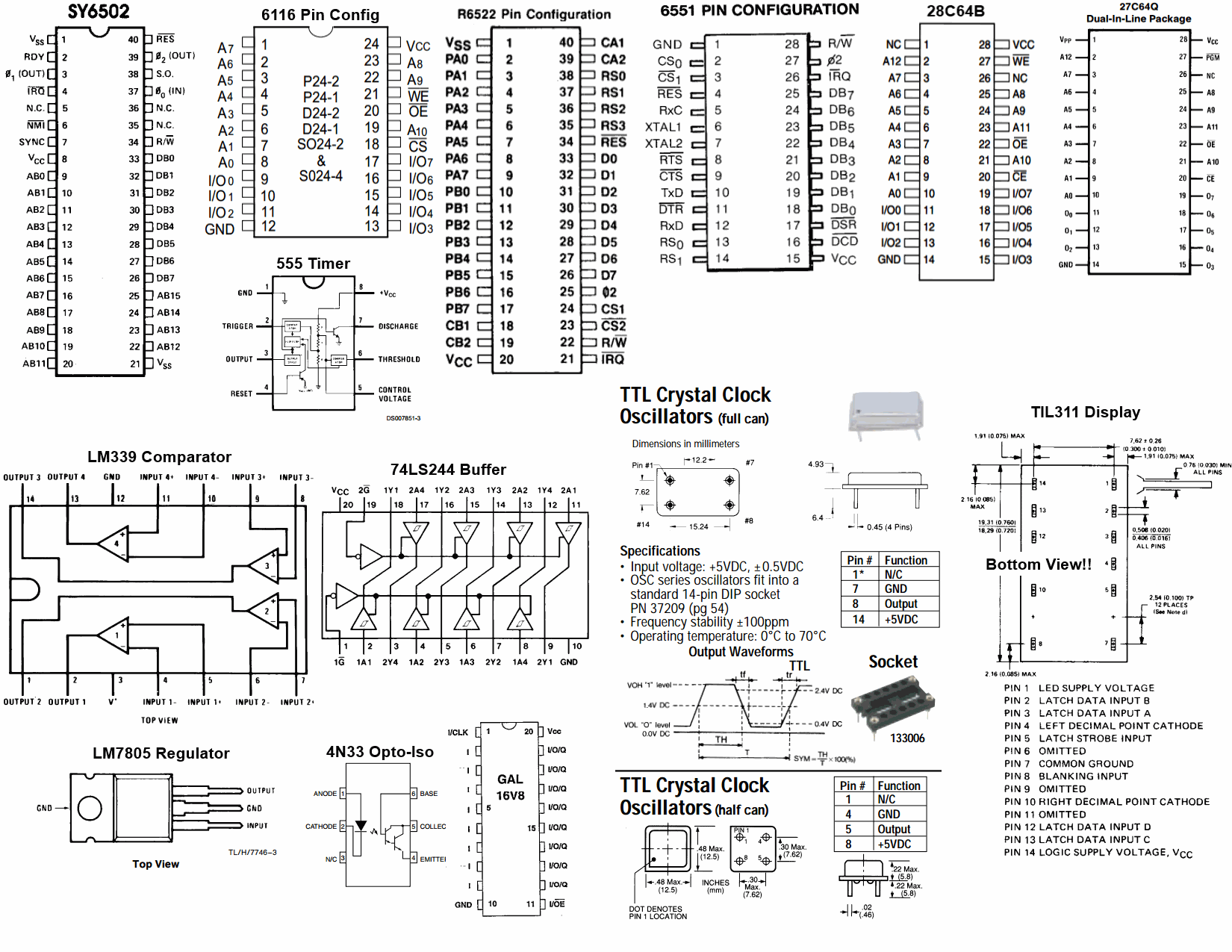 circuits cheat sheet
