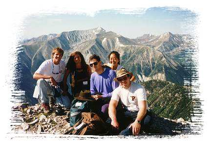 Summit of Mt. Princeton
