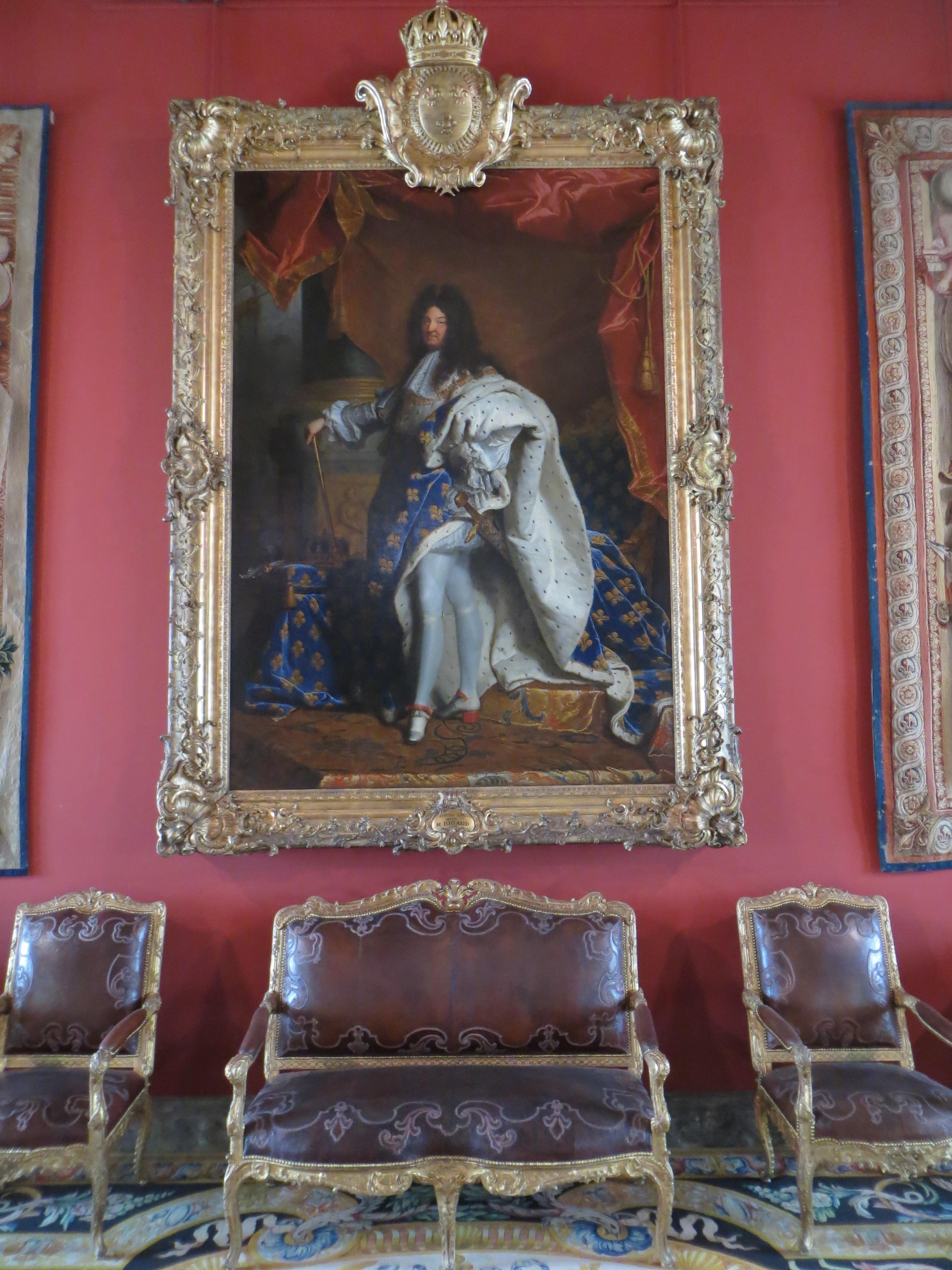 Paintings for Salon d apollon