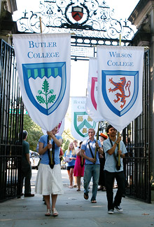 Residential College banners