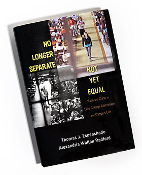 """No Longer Separate, Not Yet Equal"" book cover"