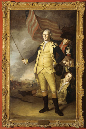 Charles Willson Peale's portrait of George Washington