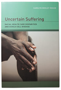 """Uncertain Suffering"" book cover"