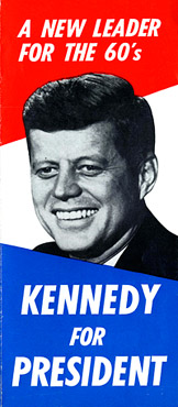 jfk exhibit campaign brochure