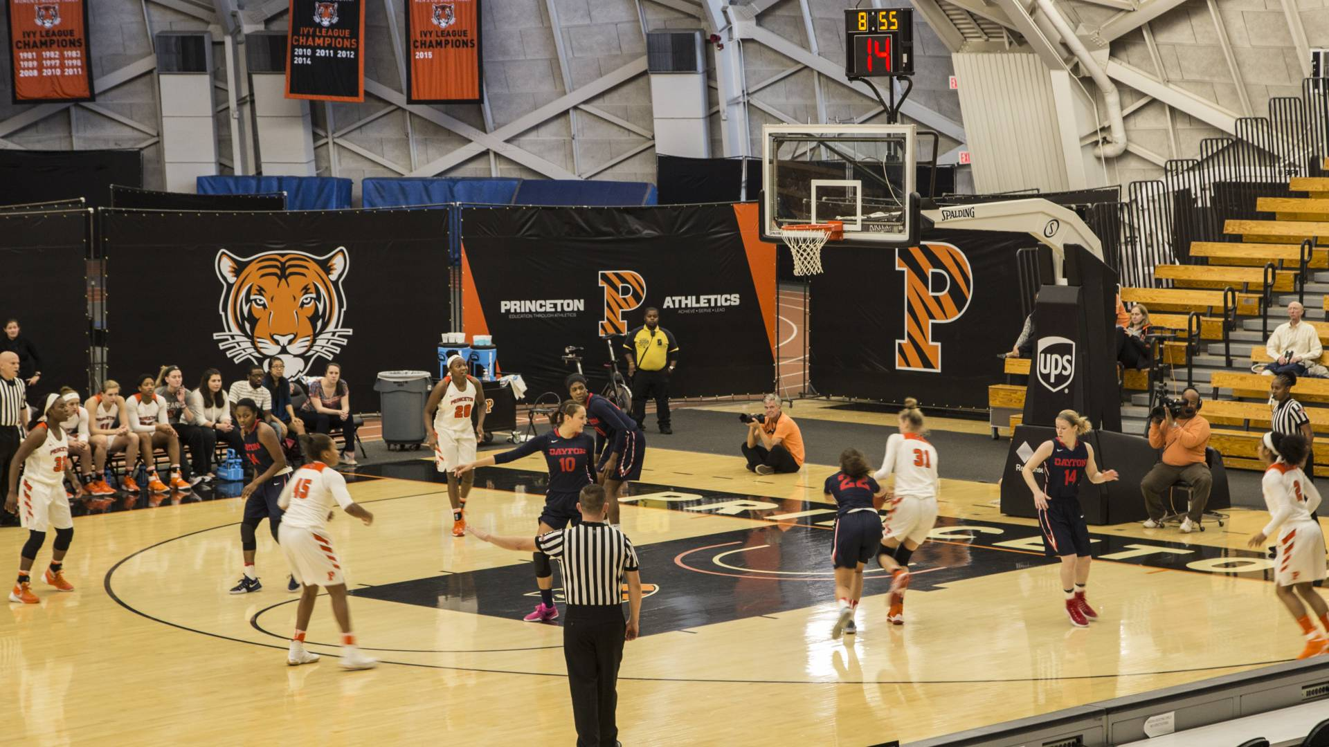 Princeton's Women's Basketball team