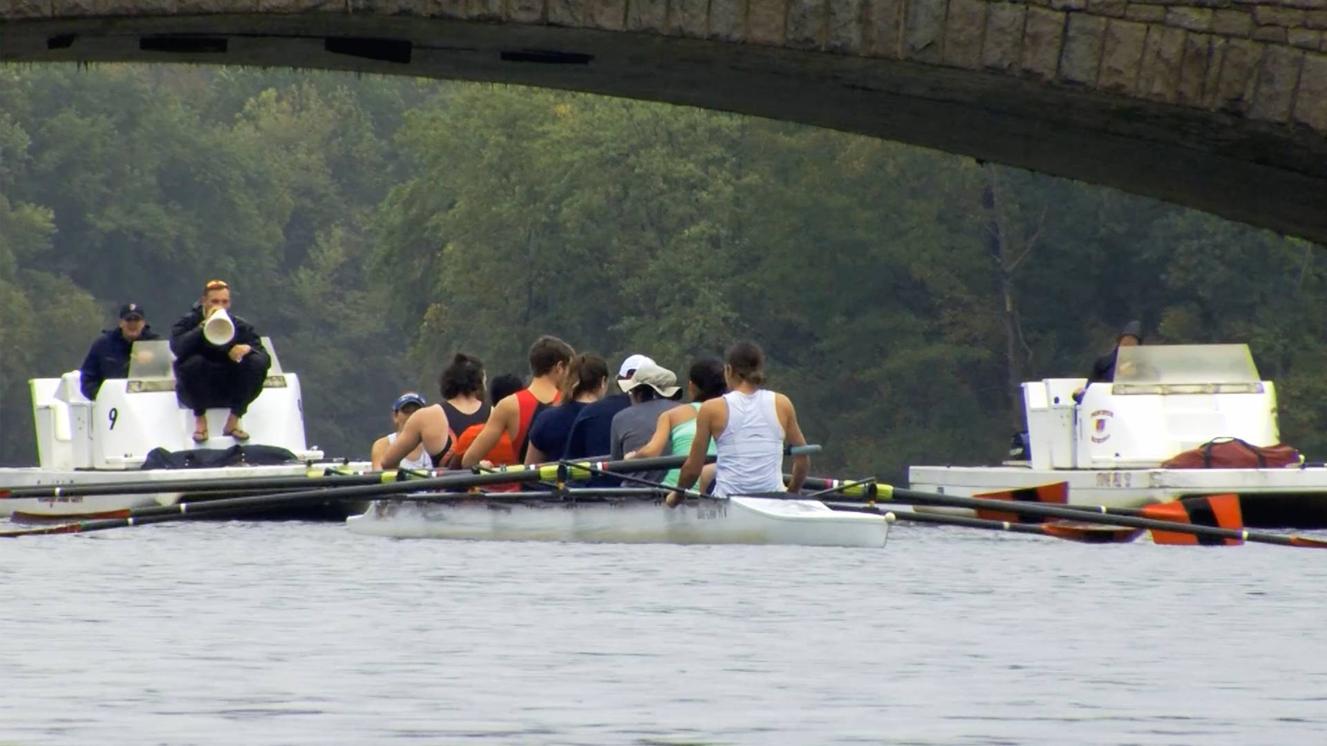 Special Olympics Rowing program