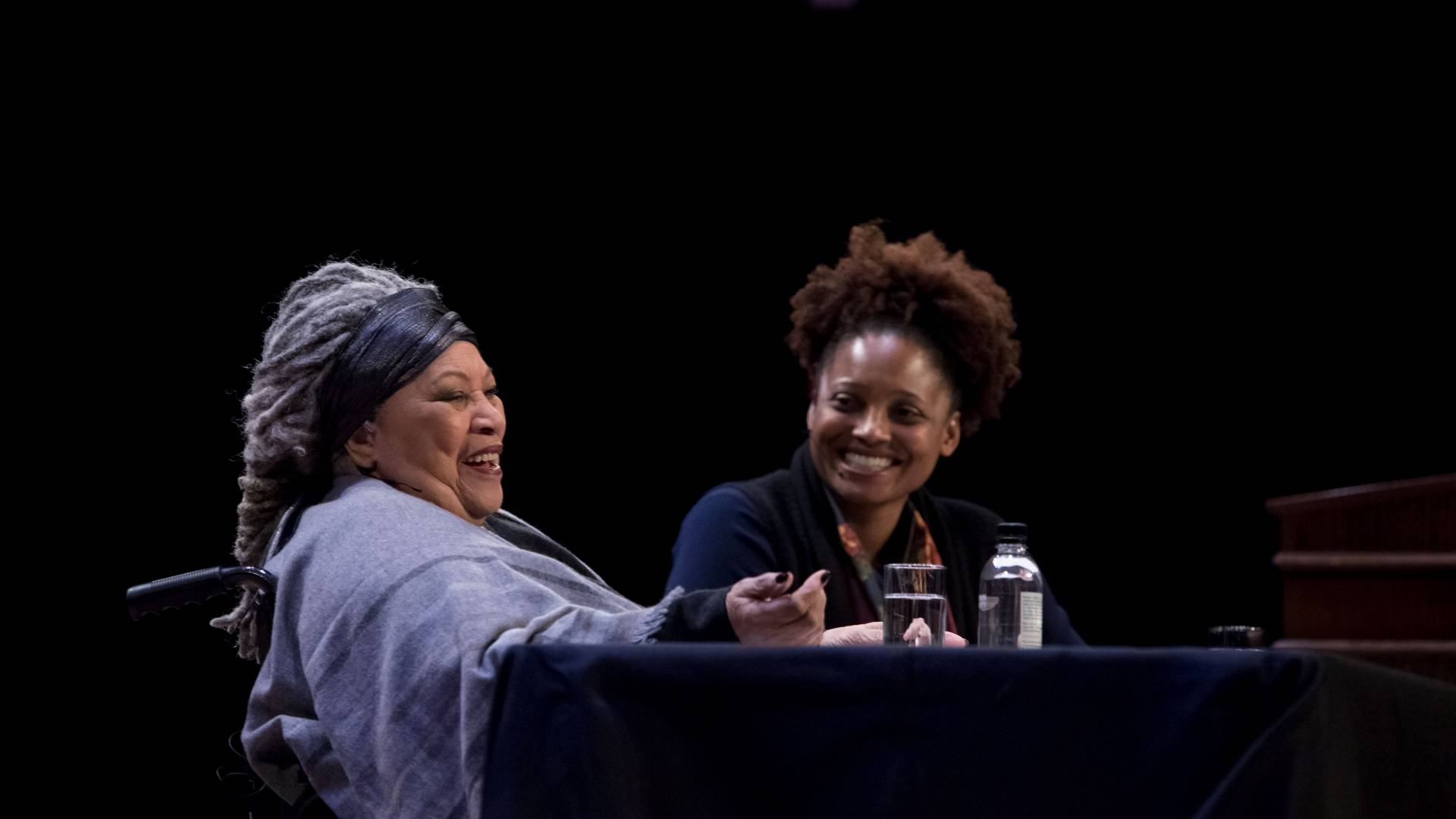 Toni Morrison and Tracy K. Smith