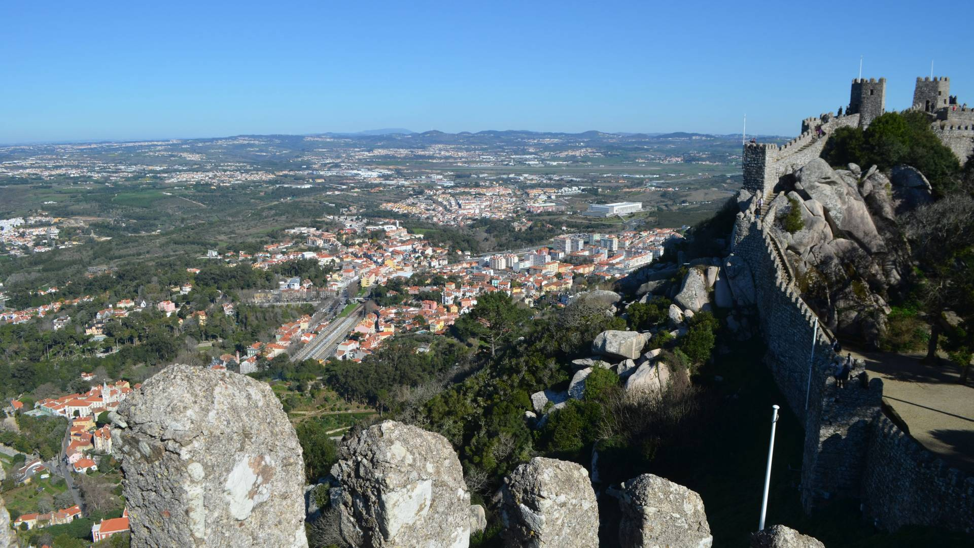 View from the Castle of the Moors (Sintra, Portugal)