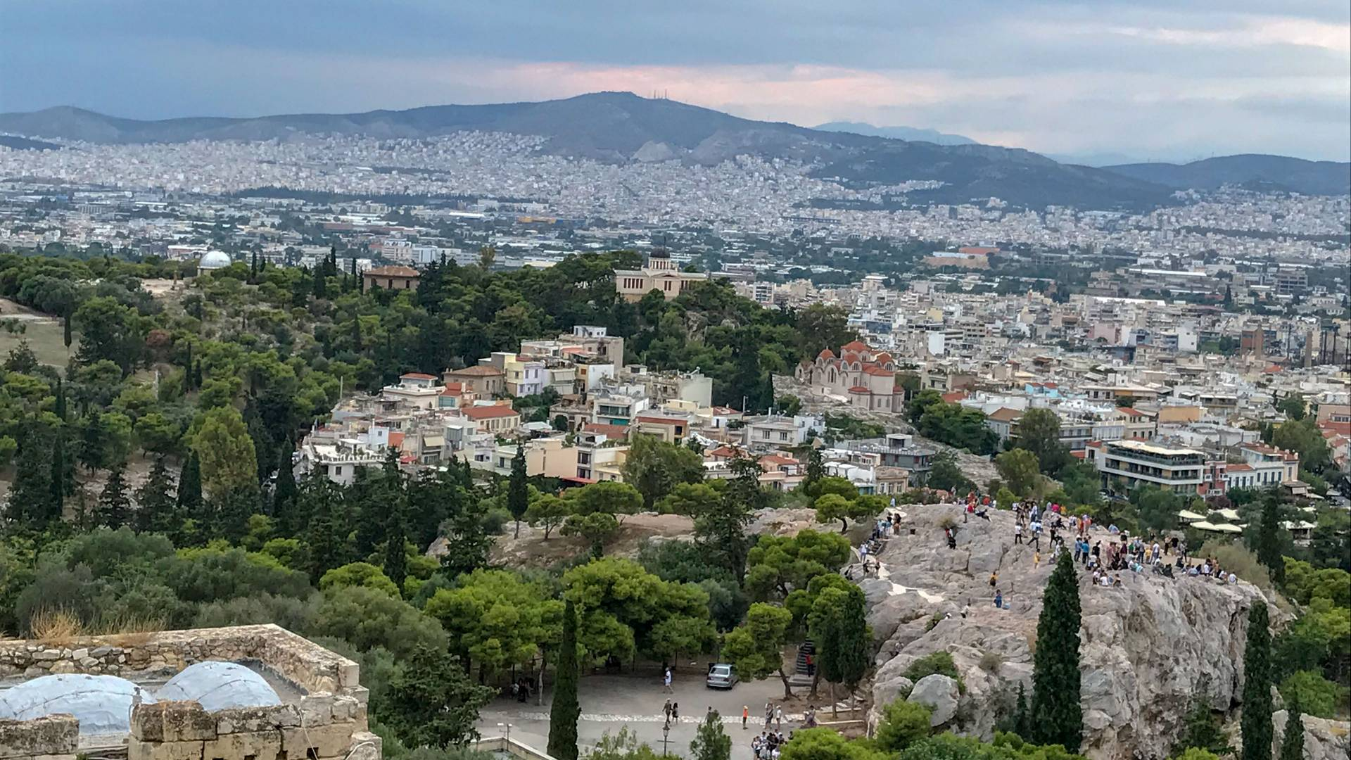 Vista of Athens, Greece