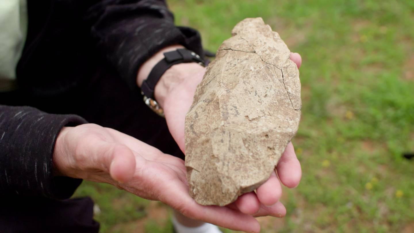 Ancient hand axe