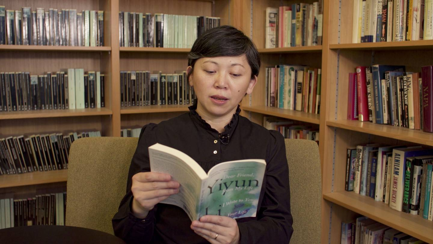 Yiyun Li reading from her memoir
