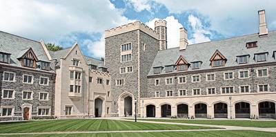Lauritzen Hall, Hargadon Hall, Murley-Pivirotto Family Tower and North Hall