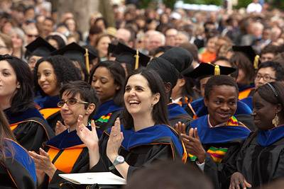 Commencement FPO crowd