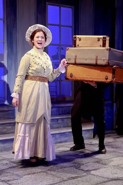 Pton Summer Theater suitcases