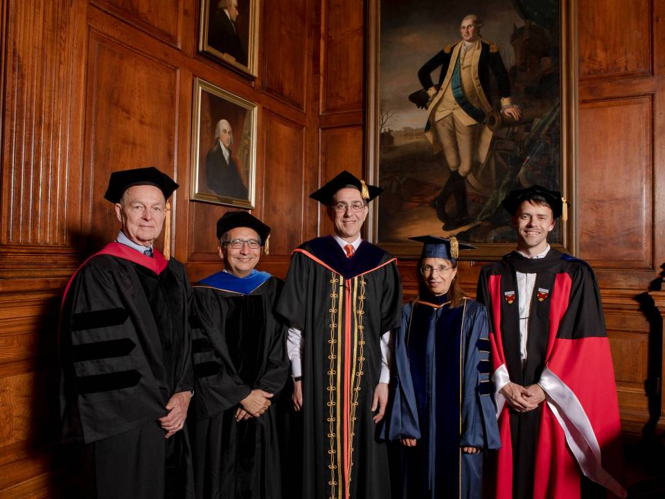 President's Award for Distinguished Teaching Winners