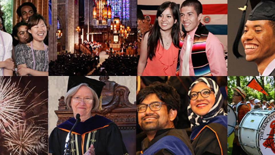 Tilghman treasures the Princeton experience, urges graduates