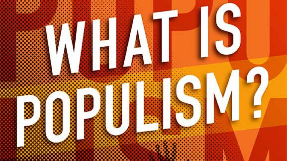 """What is Populism?"" by Jan-Werner Müller book jacket"