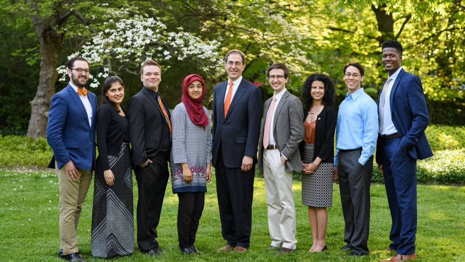 2017 Spirit of Princeton prize winners