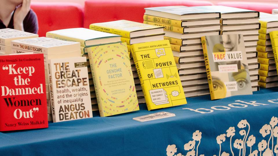 "TigerTalks in the City on ""Breakthrough Books,"" featuring four Princeton faculty members discussing their most recent books"