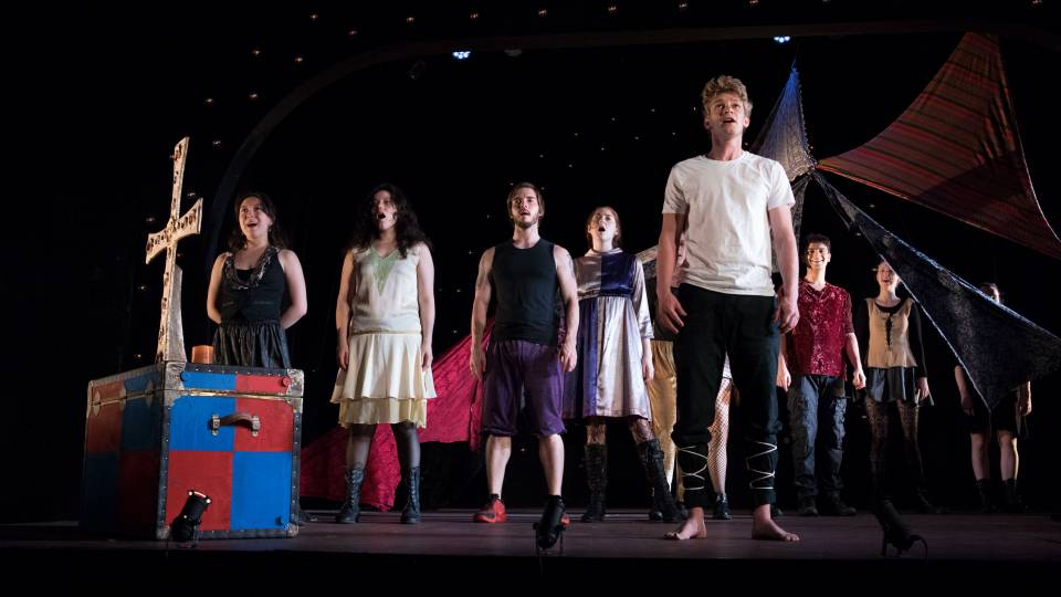 Scene from Princeton Summer Theater 2017 production of Pippin