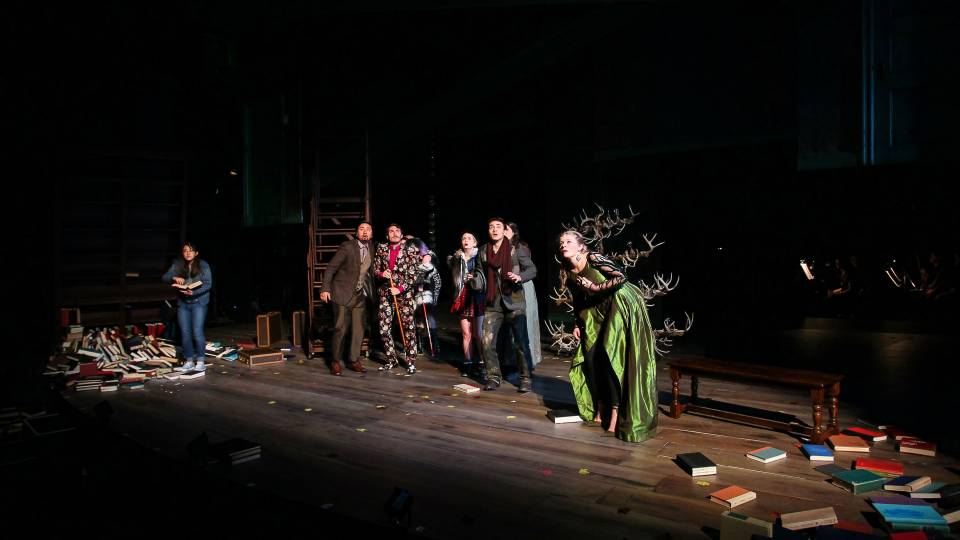 Scene from the musical Into The Woods