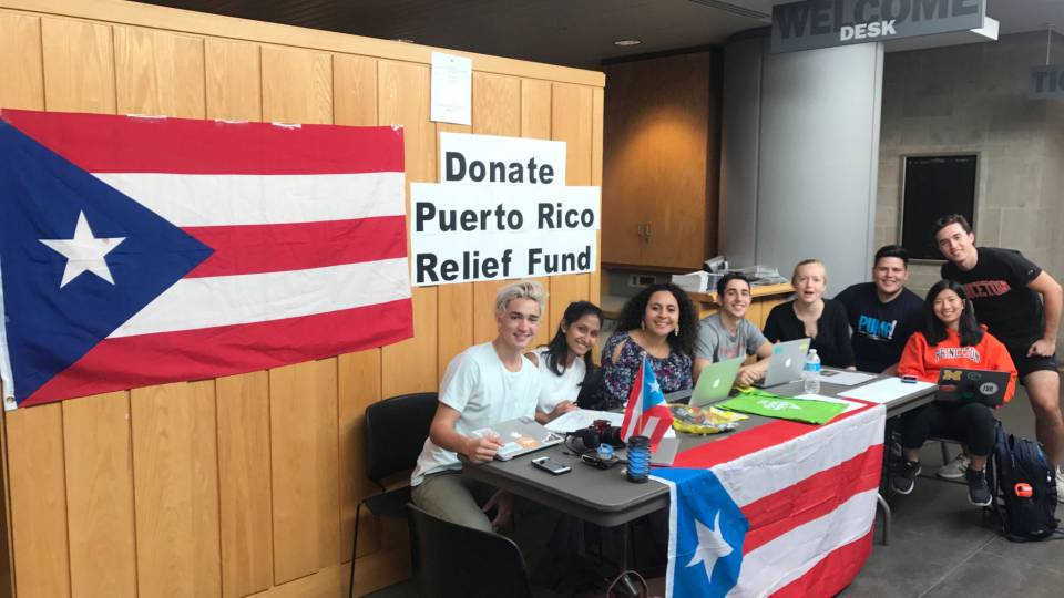 Puerto Rico fundraiser at Frist