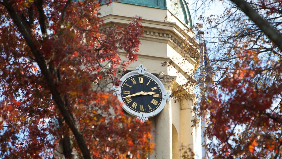 Nassau Hall Clock