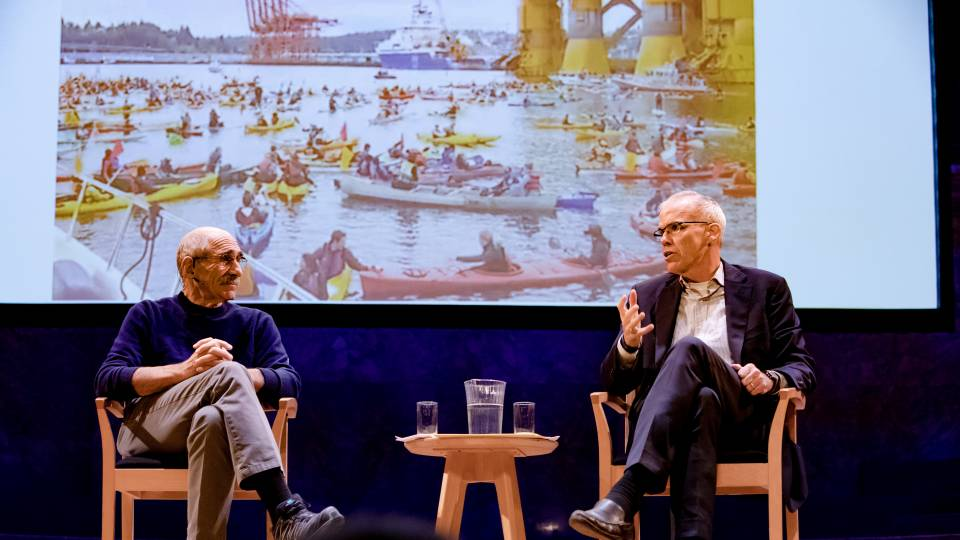 Michael Oppenheimer and Bill McKibben