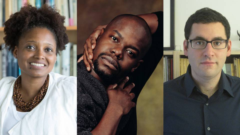 Tracy K. Smith, Jaamil Olawale Kosoko and Joshua Kotin