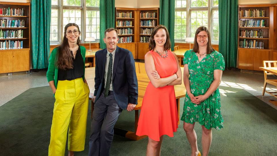 Princeton Writes Prize recipients standing together