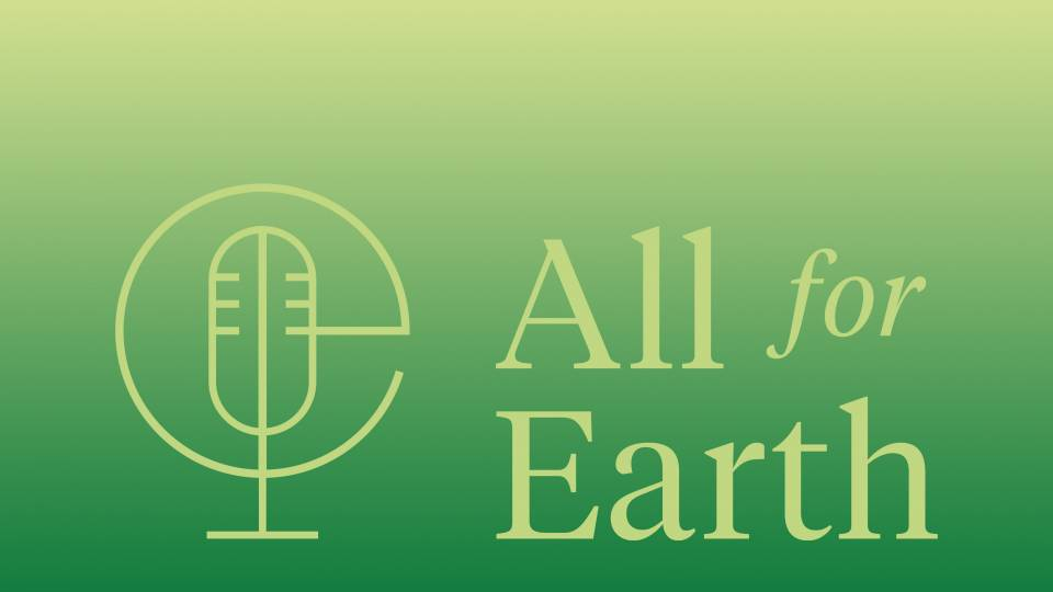 All for Earth podcast logo