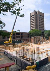 Science library construction