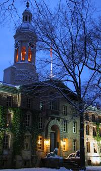 Dawn over Nassau Hall