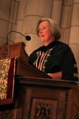 Shirley Tilghman speaks at Opening Exercises