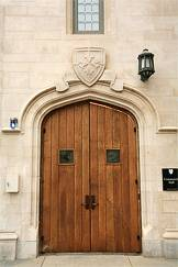Doors to Community Hall