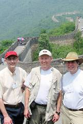 Alumni on the Great Wall of China