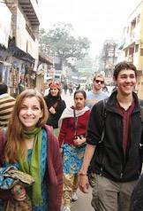 Walking the streets of India