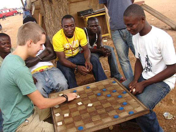Internationalism Ghana chess