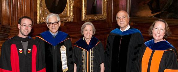 Commencement faculty