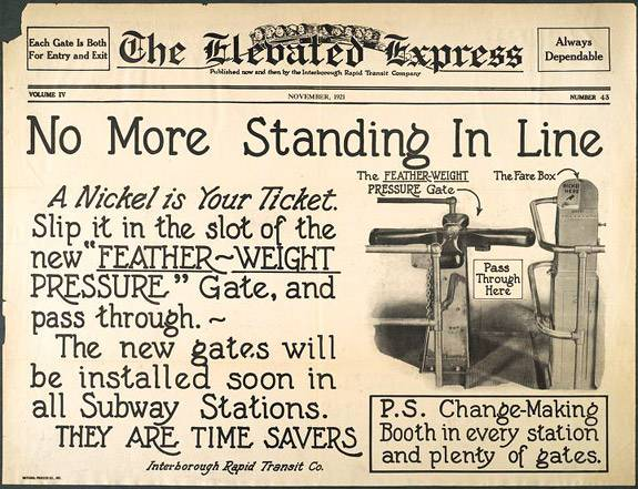 Library Blogs III elevated express