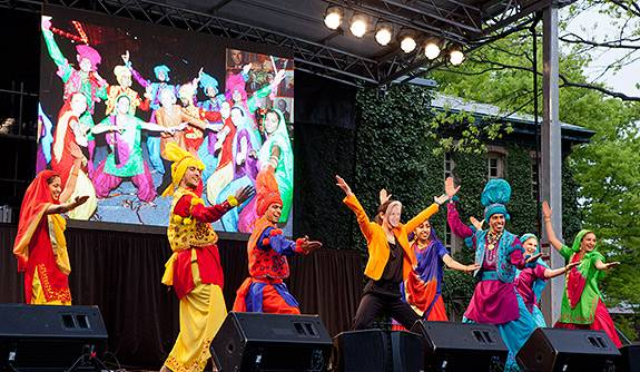 SMT Arts Weekend bhangra