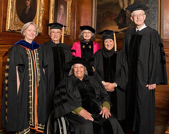 Commencement honorary degrees