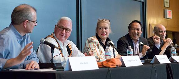 Reunions 2014 Service of All Nations panel