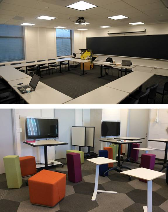 Teaching and Technology before and after classrooms