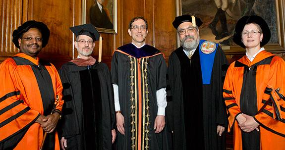 Commencement 2014 Distinguised teaching awards