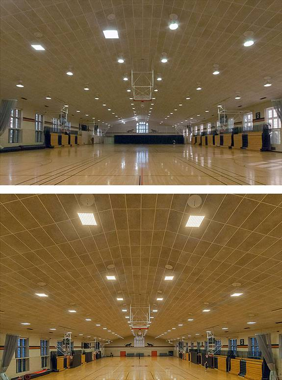 LED Lights Dillon Gym